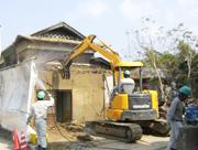 木造建築解体工事