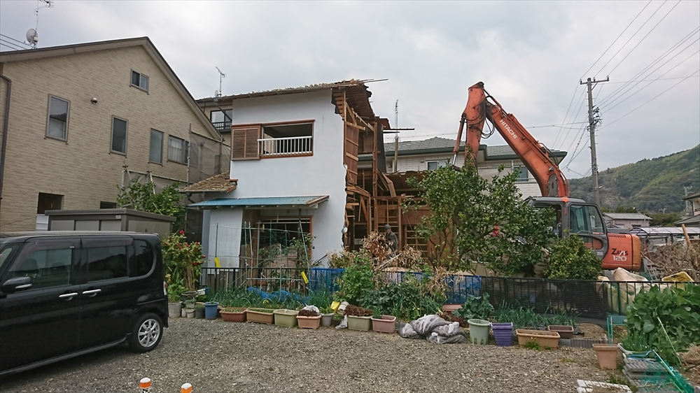 焼津市解体工事